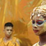 Pupils performing at the Paddington Arts Centre